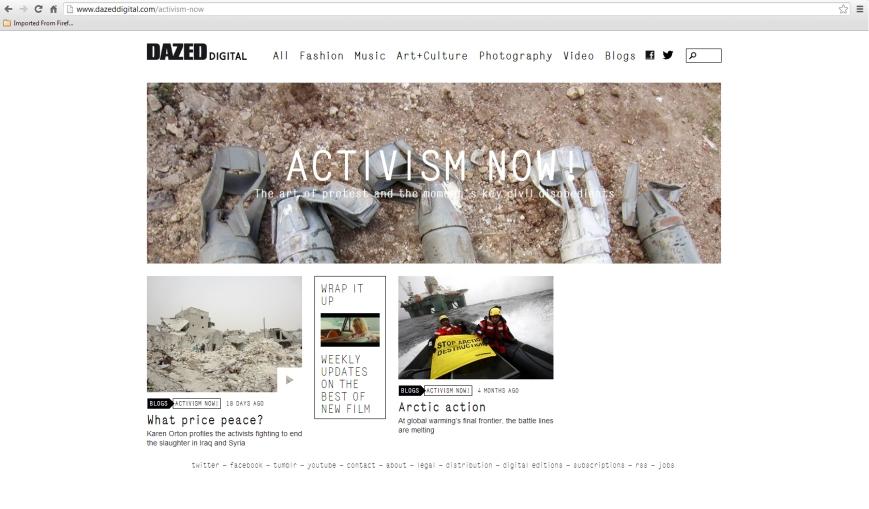 activism now
