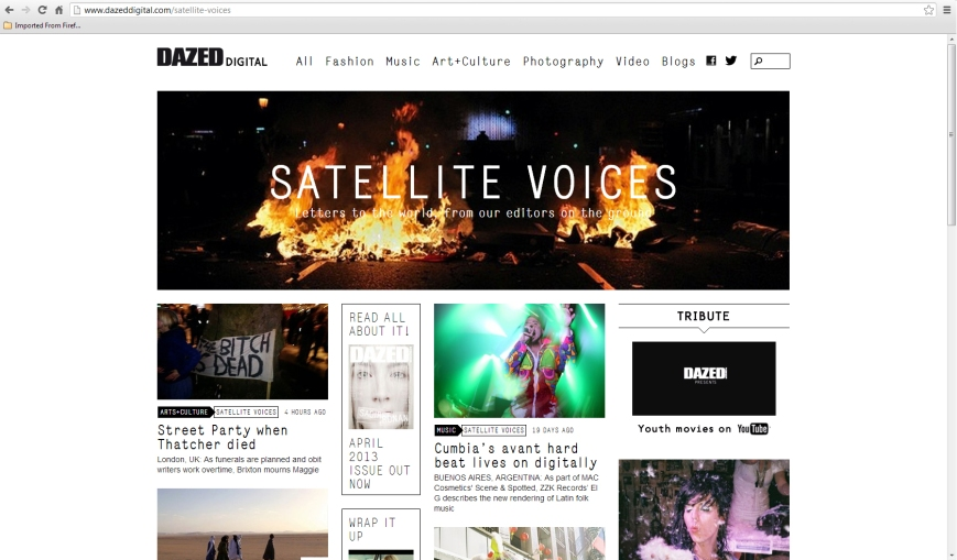 satellite voices