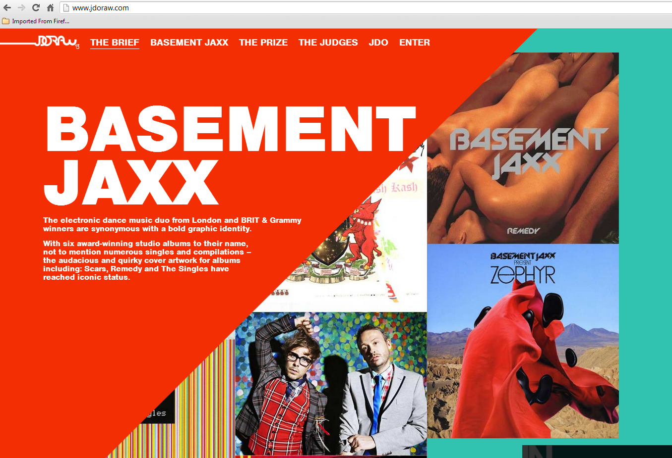 basement jaxx inspired ideas