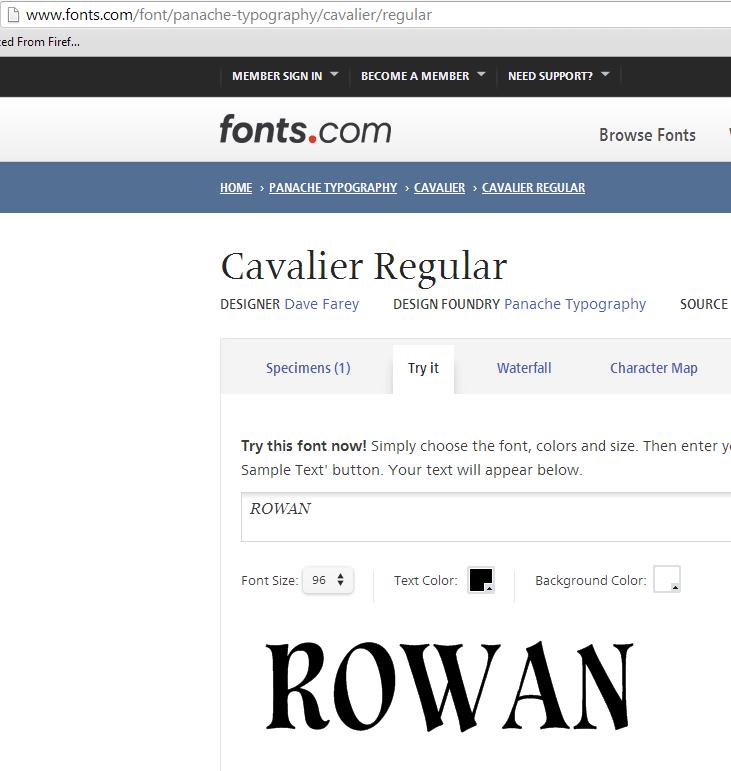 cavalier reg