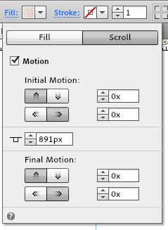 11 fill scroll settings