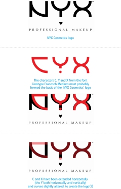 nyx professional makeup logo. what font does nyx cosmetics use? | inspired ideas nyx professional makeup logo